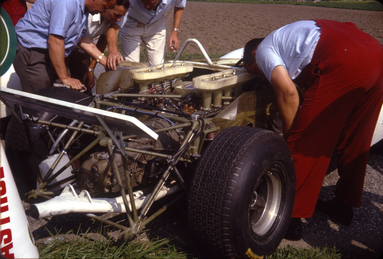 Porsche 910 Bergspyder At Ollon Villars 1967 Never